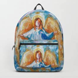Angel Of Harmony 18x24 Backpack