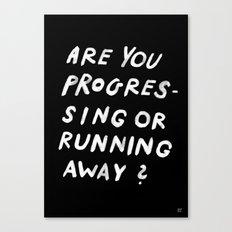 GOOD QUESTION Canvas Print