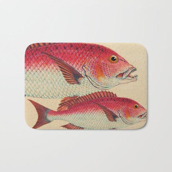 Fish Classic Designs 7 Bath Mat