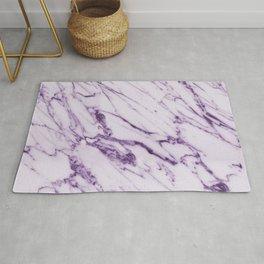 Purple marble Rug