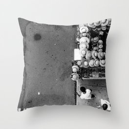 The Hat Stand (NYC) Throw Pillow
