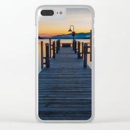 Lake George Clear iPhone Case