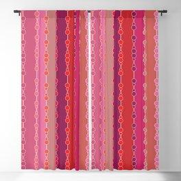 Multi-faceted decorative lines Blackout Curtain