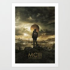 Explorer Serie : MCIII (portrait) Art Print