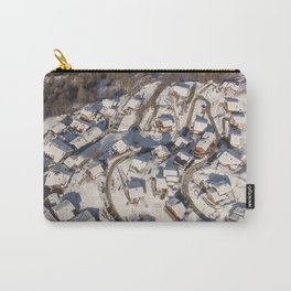 mountain village from the sky Carry-All Pouch