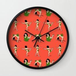 Art model weed Censorship Wall Clock