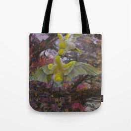 A Quick Peck From My Love Bird Is All I Need Tote Bag