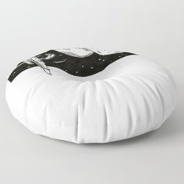 Space Station Floor Pillow
