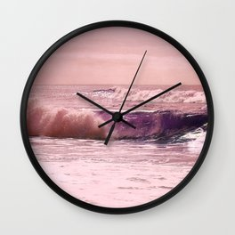 Impassioned Sea Wall Clock