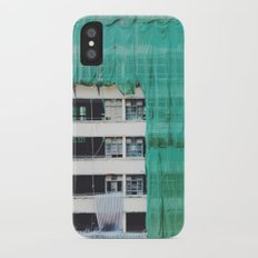 Bamboo Scaffolding Hong Kong Slim Case iPhone X