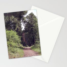Trail in the Forest Stationery Cards