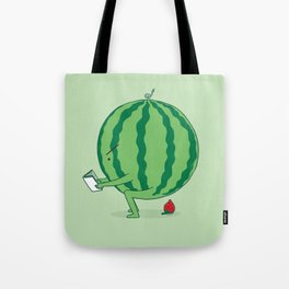 The Making of Strawberry Tote Bag