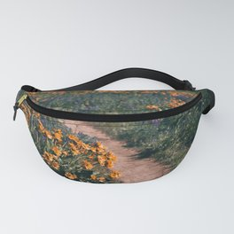 Floral Walks III Fanny Pack
