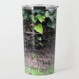 Green World. Fashion Textures Travel Mug