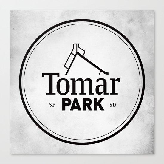 Tomar Park Canvas Print