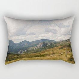 Mountains in the Fall Rectangular Pillow