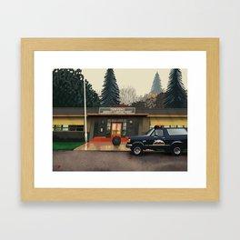 Sheriff's department Framed Art Print