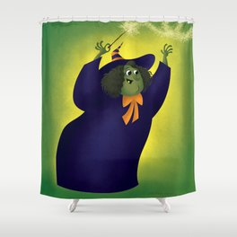 Witchy Godmother Shower Curtain