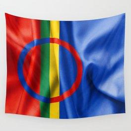 Sami Flag Wall Tapestry