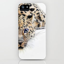 Local Eyes 'Leopard' iPhone Case