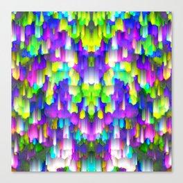 Colorful digital art splashing G392 Canvas Print