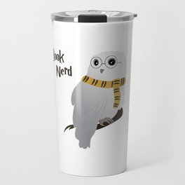 Book Nerd Hedwig - Hufflepuff Travel Mug