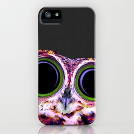 Electric Owl iPhone Case