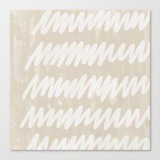static grey Canvas Print