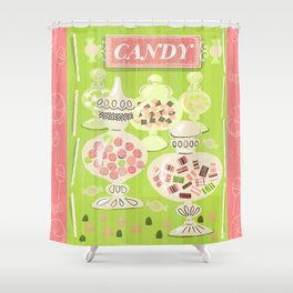 Sweets For The Sweet Shower Curtain