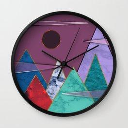 Abstract #405 Wall Clock