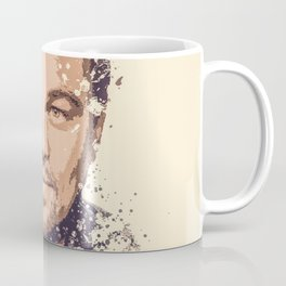 Leonardo DiCaprio splatter painting Coffee Mug