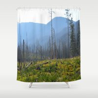 montana Shower Curtains featuring Montana by MelissaLaDouxPhoto