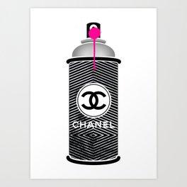Spray 02 Art Print