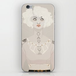 Pale Witch iPhone Skin