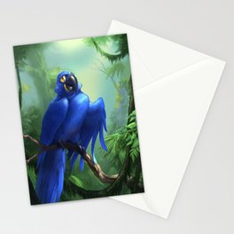 Moseley the Hyacinth Macaw Stationery Cards