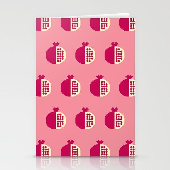 Fruit: Pomegranate Stationery Cards