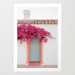 Summer Door Art Print