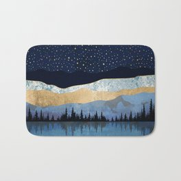 Midnight Lake Bath Mat