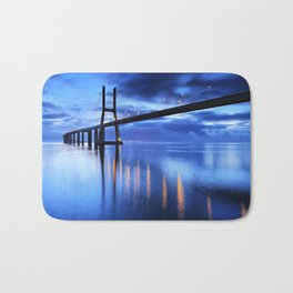 Vasco Da Gama Bridge Bath Mat