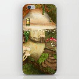 Fungus Cottage -  Ella Springhollow Scene 1 iPhone Skin