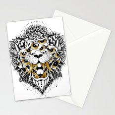 Gold Eyed Tiger Stationery Cards