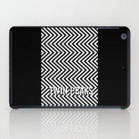 twin peaks iPad Cases featuring Twin Peaks by Spyck
