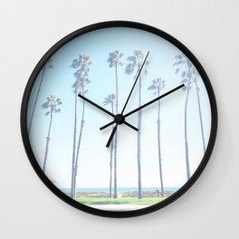 Geopalmtree Wall Clock