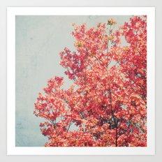 Cheerful Spring Art Print