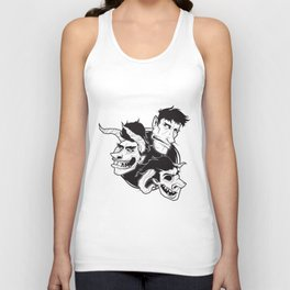 The Demons and Deceipt of 2B Unisex Tank Top