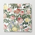 Vintage Roses and Iris Pattern - Flower Dreams by #UtART by originalaufnahme