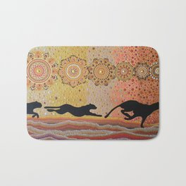 The Chase Is On Bath Mat