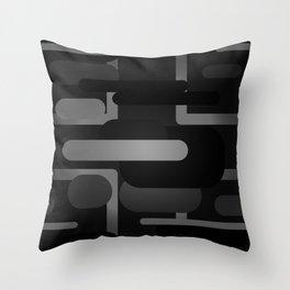 Mocha - Blackout Variant Throw Pillow