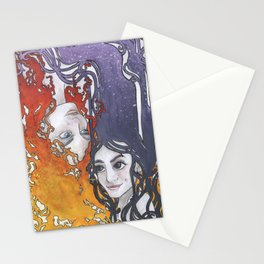 Antara and Meridian: Fire and Darkness Stationery Cards