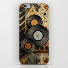 Retro Vinyl. iPhone Skin
